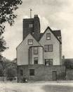 LONDON. Canonbury tower, and old manor house turned into a social club 1926